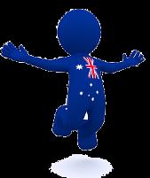 Aussie Icon Jumping