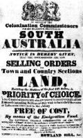 An 1835 South Australia Land Advertisement