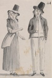 Convict couple in New South Wales