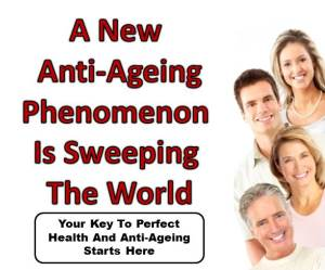 Advertisement for Anti-Ageing Product