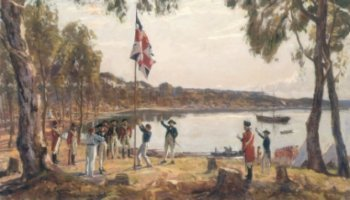 The Founding of Australia (by the British) January 26th 1788 - Sydney Cove