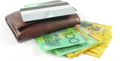 Australian Money - Wallet and Credit Card