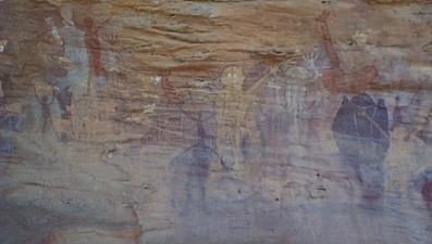 Rock Art Found On The Great Barrier Reef Australia
