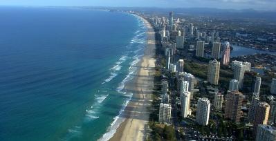 Gold Coast Queensland Australia Aerial View