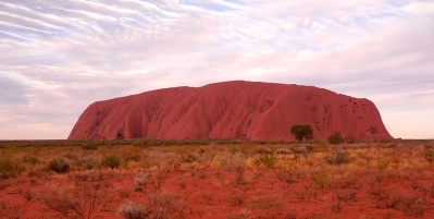 The Side Of Uluru