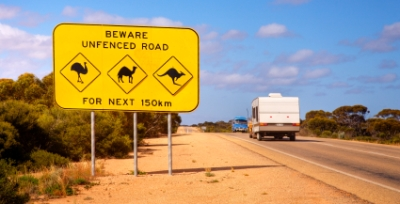 Australian Outback Travel - Outback Sign