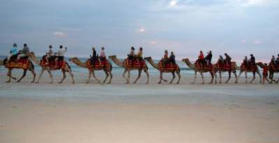 A Camel Ride Along Cable Beach in Broome Western Australia