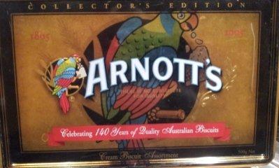 Arnotts Biscuit Tin