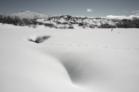 Snow at Perisher Valley