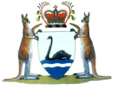 Western Australia Coat of Arms