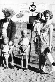 The Bell Family in the Outback