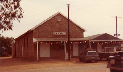 CWA Hall in Tibooburra New South Wales