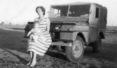Stella Bell & Child in the Outback