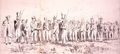 A Chain Gang in New South Wales