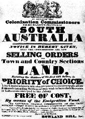 An 1835 South Australia Land Advertisement