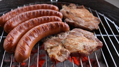 Australian Barbie With Sausages & Steak