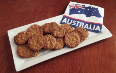 Australian Biscuits - ANZAC Biscuits