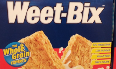 Packet of Weet-Bix