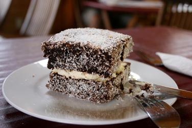 Australian Cake - The Delicious Lamington