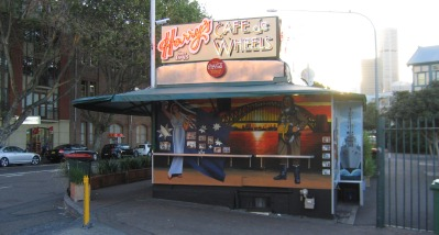 The Historic Harry's Cafe de Wheels in Sydney