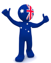 Aussie Icon With Thumbs Up