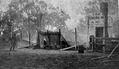 The Remains of the Burnt Jones Hotel - Glenrowan Inn