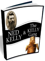 3D E-Book Cover Of Ned kelly & The Kelly Gang