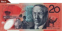 $20 Note - Reverend John Flynn