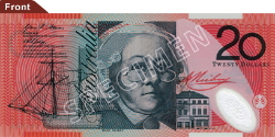 $20 Note - Mary Reiby