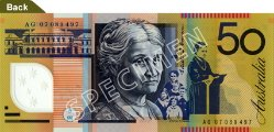 $50 Note - Edith Cowan