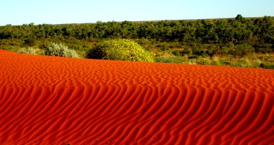 Red Outback Sand Hill