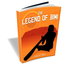 3D E-Book Cover Of The Legend Of Bimi