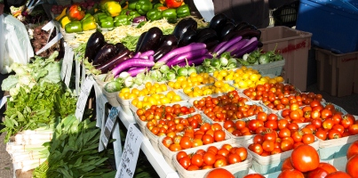 Beautiful fruit & veg available at the Barossa Farmers Market