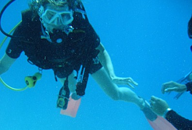 Learning To Dive On The Great Barrier Reef Australia