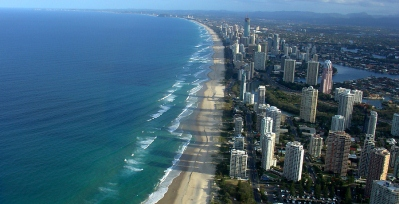 Gold Coast Queensland Australia Aerial View