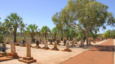 Japanese Cemetery in Broome Western Australia