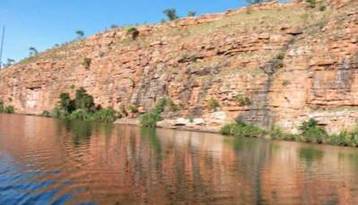 The Kimberleys Western Australia Steep Sided Gorges