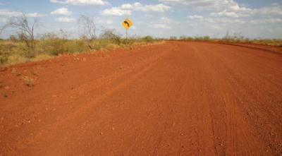 Outback Australian Road