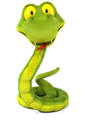 Cartoon Australian Snake