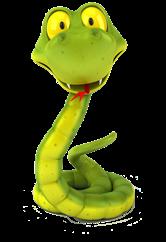 Cartoon Australian Snake