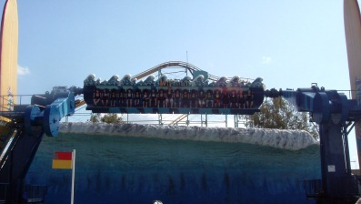 The Wipeout at Dreamworld