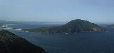Entrance to Port Stephens, New South Wales