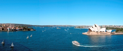 Cruising The Sydney Harbour - Sydney New South Wales