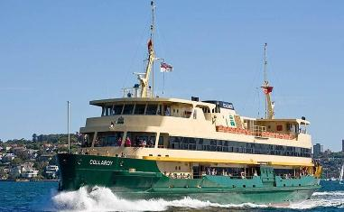 The Manly Ferry - Sydney New South Wales