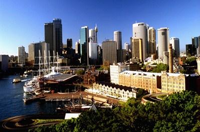 Sydney The Rocks Area - Sydney New South Wales