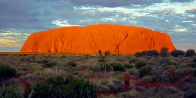 The Changing Colours Of Uluru