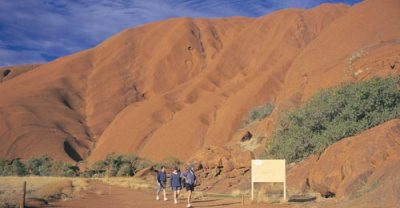 Walk Around Uluru-Kata Tjuta National Park World Heritage Area