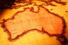 Old Map of Australia