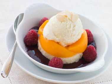 Australian Dessert - The Wonderful Peach Melba