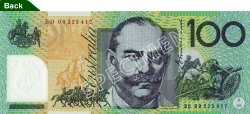 $100 Note - General Sir Joh Monash